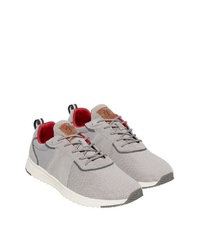 graue niedrige Sneakers von Marc O'Polo