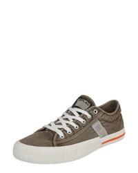 graue niedrige Sneakers von Replay