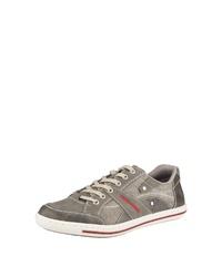 graue niedrige Sneakers von Rieker