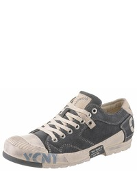 graue niedrige Sneakers von Yellow Cab