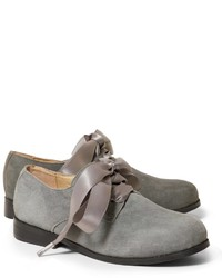 graue Oxford Schuhe
