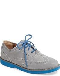 graue Oxford Schuhe