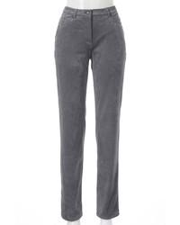 graue enge Jeans aus Samt von Stark