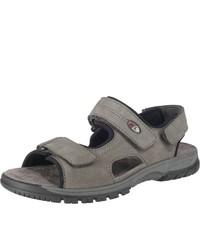 graue Sandalen von Waldläufer