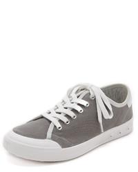 graue Segeltuch niedrige Sneakers von Rag & Bone