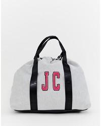 graue Segeltuch Reisetasche von Juicy Couture