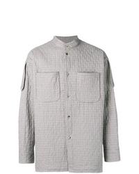 graue Shirtjacke mit Schottenmuster von Vivienne Westwood