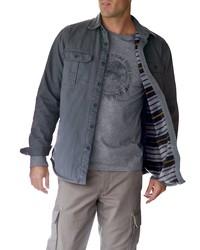graue Shirtjacke von Eddie Bauer
