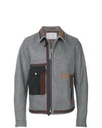 graue Shirtjacke von Kolor