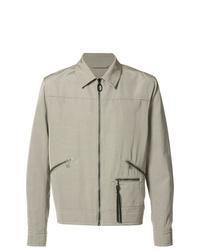 graue Shirtjacke von Lanvin