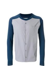 graue Shirtjacke von Maison Margiela