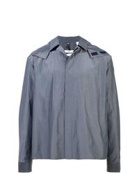 graue Shirtjacke von Oamc