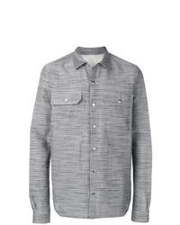 graue Shirtjacke von Rick Owens