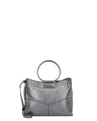 graue Shopper Tasche aus Leder von Caterina Lucchi