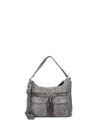 graue Shopper Tasche aus Leder von FREDsBRUDER
