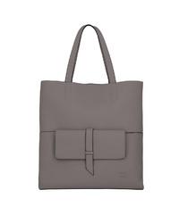 graue Shopper Tasche aus Leder von Titan