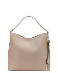 graue Shopper Tasche aus Leder von Tom Ford