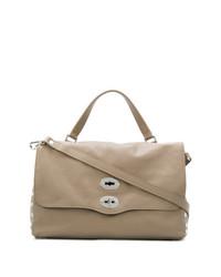 graue Shopper Tasche aus Leder von Zanellato