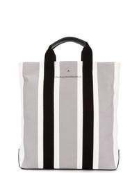 graue Shopper Tasche aus Segeltuch von Calvin Klein 205W39nyc