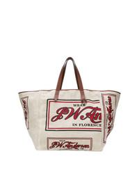 graue Shopper Tasche aus Segeltuch von JW Anderson