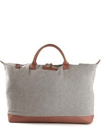 graue Shopper Tasche aus Segeltuch von WANT Les Essentiels