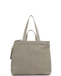 graue Shopper Tasche aus Wildleder von Marsèll