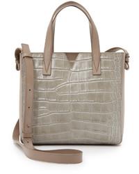 graue Shopper Tasche von Vince