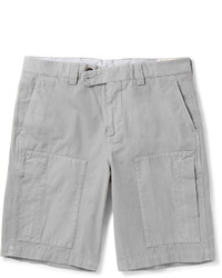 graue Shorts von Brunello Cucinelli