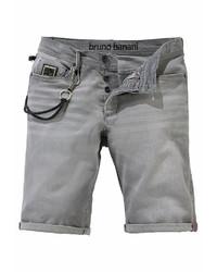 graue Shorts von BRUNO BANANI
