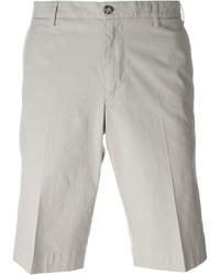 graue Shorts von Canali