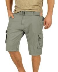 graue Shorts von INDICODE