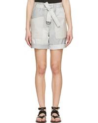 graue Shorts von Isabel Marant
