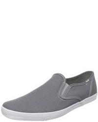 Graue Slip-On Sneakers
