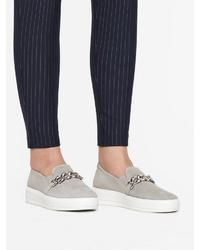 graue Slip-On Sneakers von Bianco