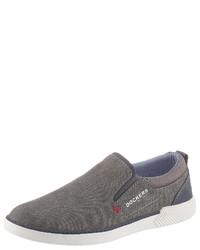 graue Slip-On Sneakers von Dockers by Gerli