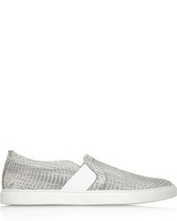 graue Slip-On Sneakers von Lanvin