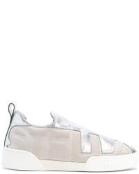 graue Slip-On Sneakers von Stella McCartney