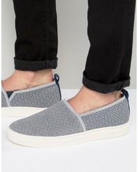 graue Slip-On Sneakers von Ted Baker