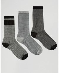 Graue Socke von Asos