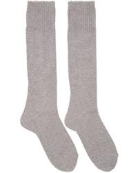 graue Socken von Hyke
