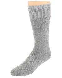 graue Socken