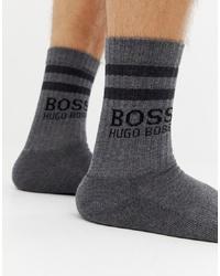 graue Socken von BOSS