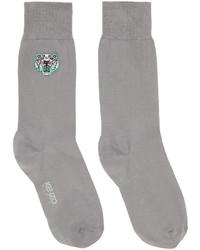 graue Socken von Kenzo