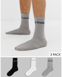 graue Socken von Reebok