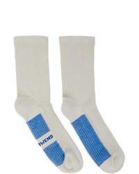 graue Socken von Rick Owens