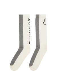 graue Socken von Moncler