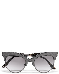 graue Sonnenbrille von Bottega Veneta