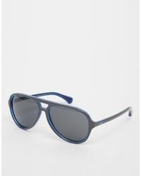 graue Sonnenbrille von Emporio Armani