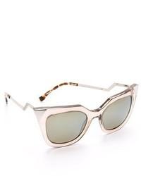 graue Sonnenbrille von Fendi