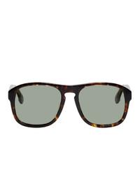 graue Sonnenbrille von Gucci